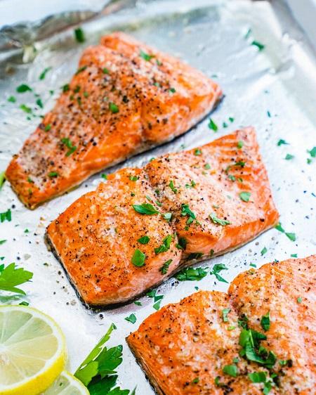 طرز تهیه ماهی رژیمی در فر, طرز تهیه ماهی سوخاری رژیمی, غذای رژیمی با ماهی