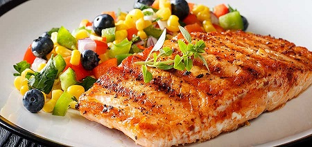 خوراک ماهی و قارچ رژیمی, طرز تهیه ماهی آب پز رژیمی, طرز تهیه فیله ماهی رژیمی